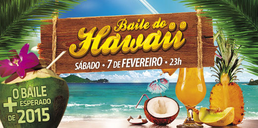 Baile do Hawaii 2015 no Itaguará
